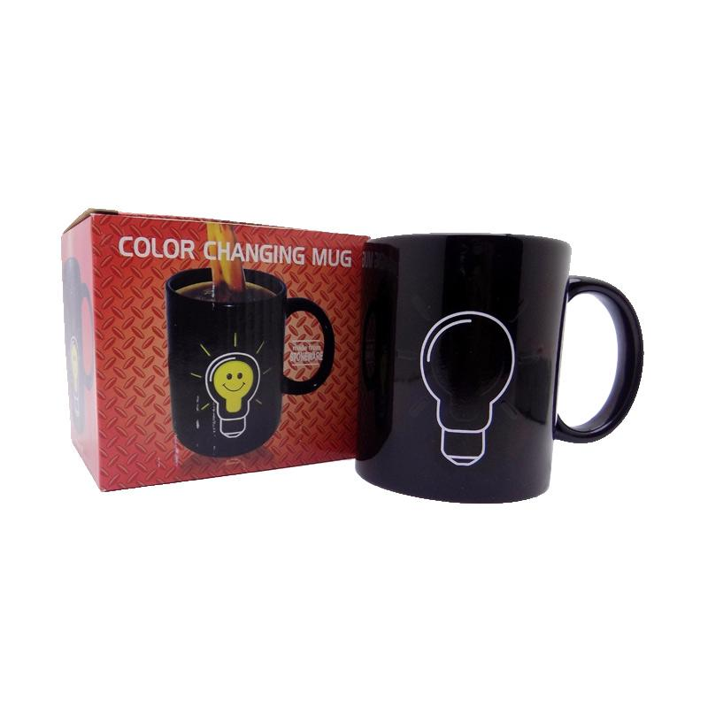 harga Agua Bunglon Motif Bohlam Gelas Magic Mug Blibli.com