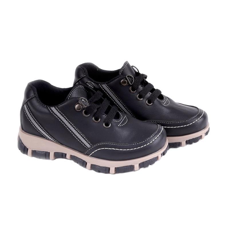 Garucci GMU 9058 Sepatu Kasual Anak Laki-Laki - Black