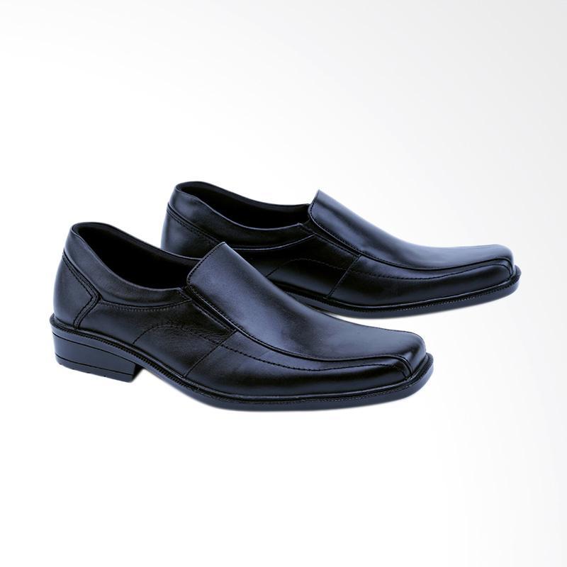 Garsel Sepatu Formal Pria - Hitam GMR 0021