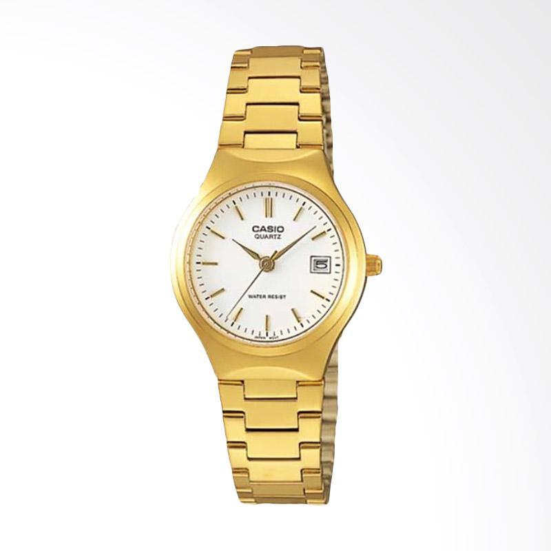 Casio Standard LTP-1170N-7ARDF Quartz Ladies Watch Stainless Steel Jam Tangan Wanita