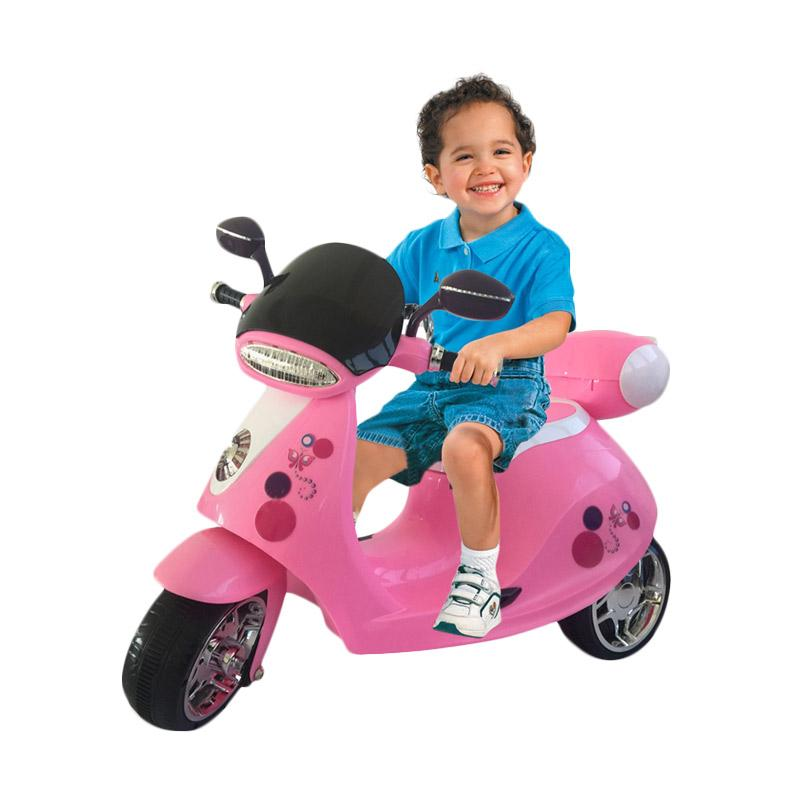 harga Ocean Toy HLM7788 Yotta Ride On Motor Aki Mainan Anak - Pink Blibli.com