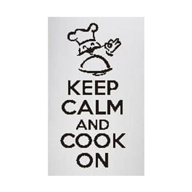 Epinidithouse Quotes Kata Keep Calm Cook Stiker