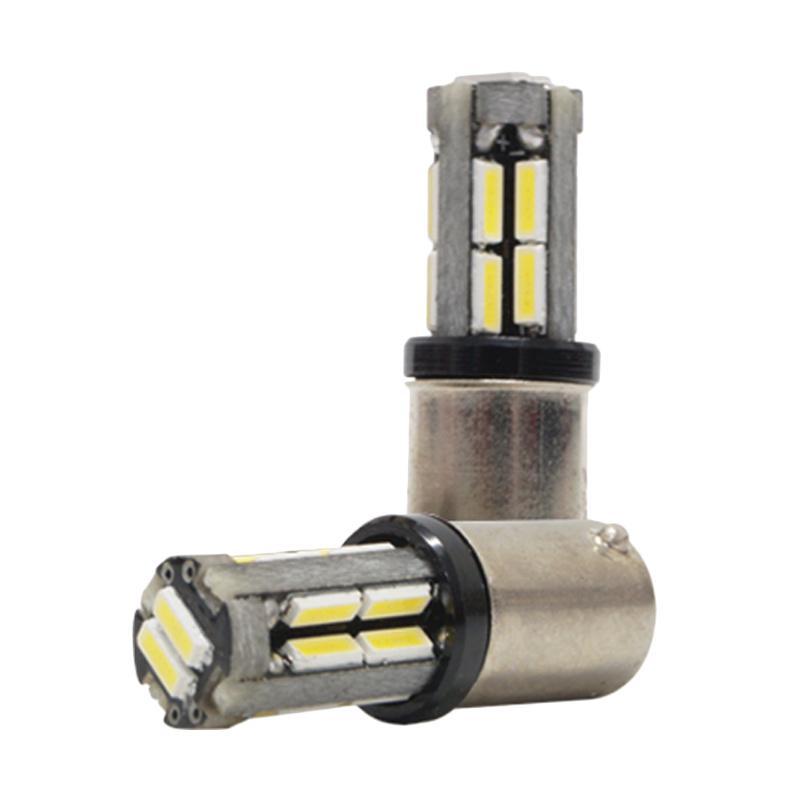 Autovision Microzen LED BA9S 18-4014 SMD Canbuss Bohlam Lampu - White [9 - 32 V]
