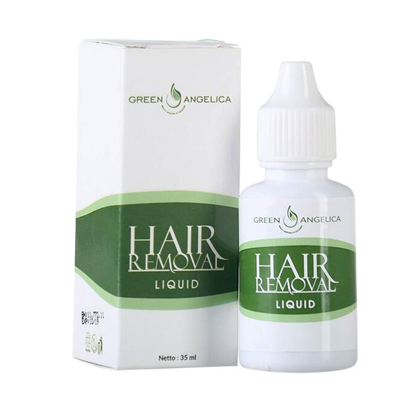 Perontok bulu kaki tangan dan ketiak tercepat dan sangat ampuh Green Angelica Hair Removal