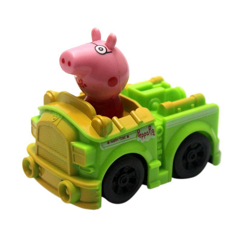 Skai Peppa Pig Green Car Mainan Edukasi Anak
