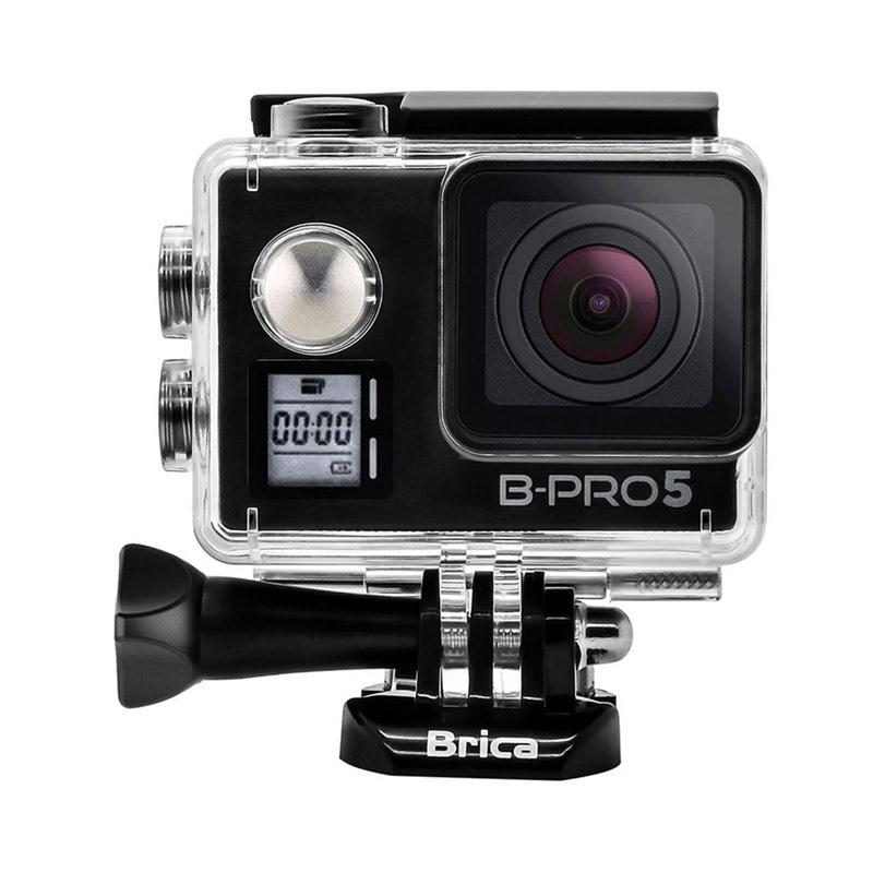 Brica B-PRO 5 Alpha Edition Mark IIs (AE2s) Action Cam with 3 Way Monopod - Hitam