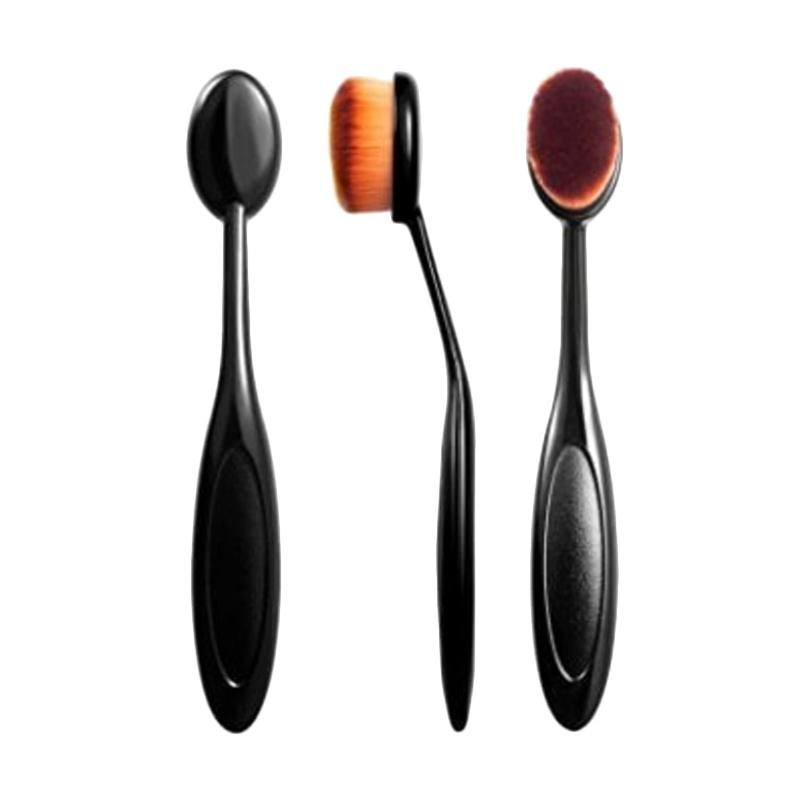 Solidex Shop Oval Makeup Brush Kuas Makeup Oval