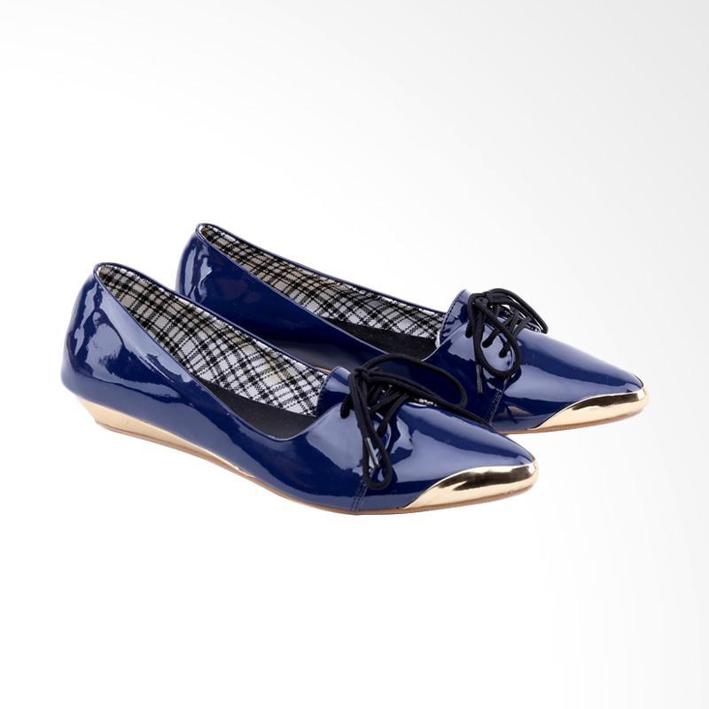 Garucci GOK 6160 Ballerina Shoes Wanita - Blue