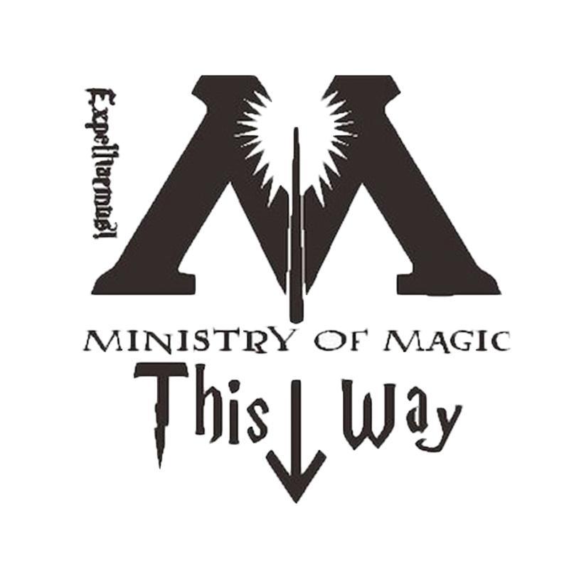 Epinidithouse Harry Potter Magic Cutting Sticker Dekorasi Toilet