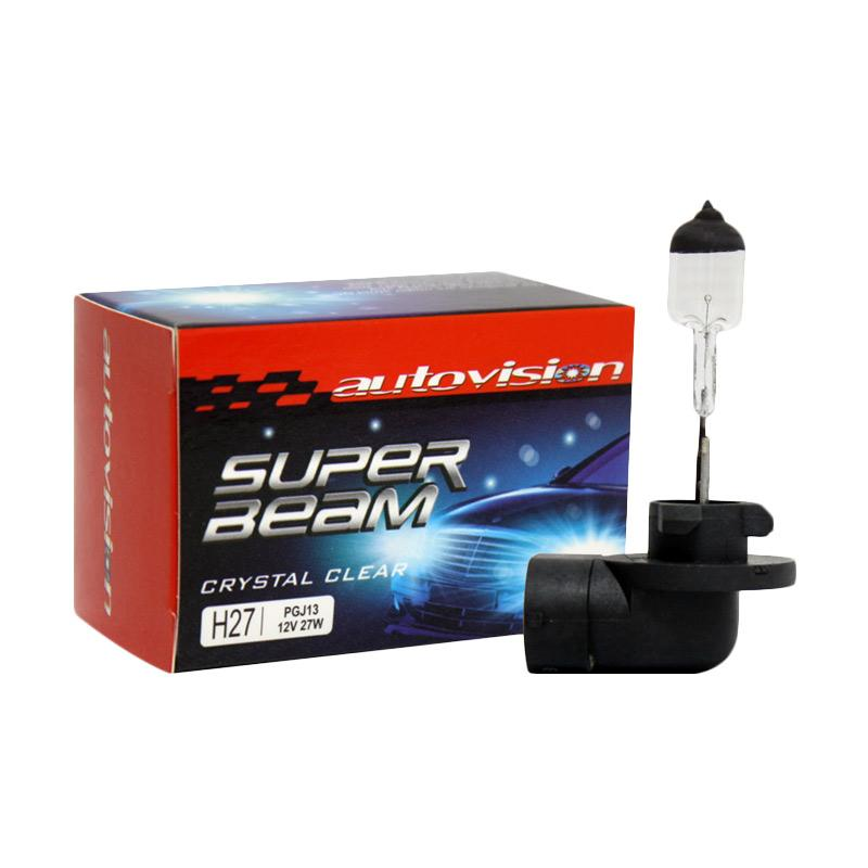 Autovision Superbeam H27 Crystal Clear Bohlam Lampu Mobil [12 V/27 W]