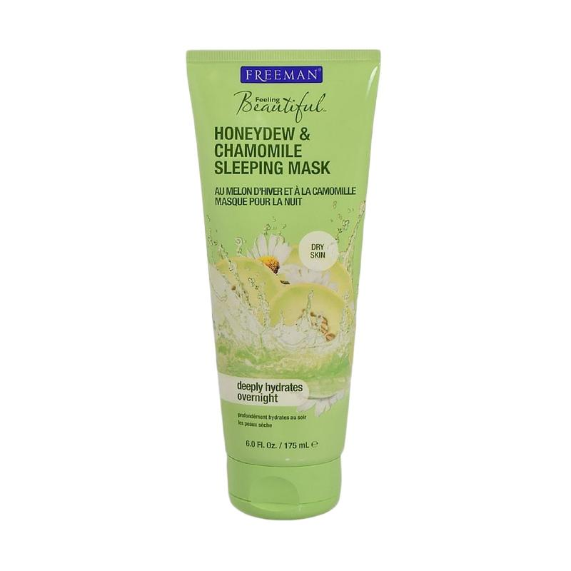 Freeman Feeling Beautiful Dry Skin Honeydew and Chamomile Sleeping Mask [6 oz]