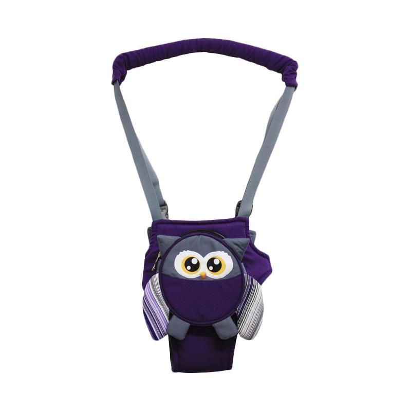 Dialogue Baby Owl Series Alat bantu Berjalan Bayi - Ungu