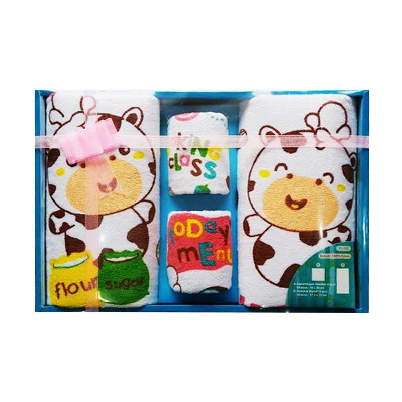 Kiddy 11132 Gift Set Handuk Bayi - Multicolor