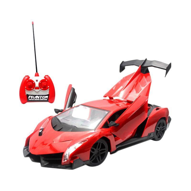 Mainan Remote Control RC Lamborghini Extreme Red Edition
