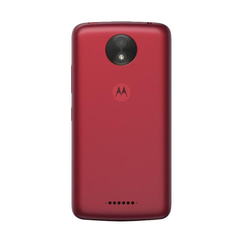 Motorola Moto C Plus Smartphone - Red [16GB/2GB]
