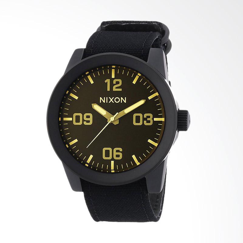 NIXON Corporal Matte Black Tint Jam Tangan Pria A2431354