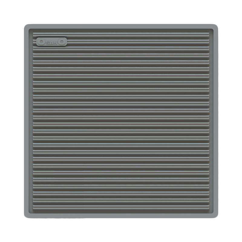 Silicone Pan & Bowl Placemat / Tatakan Panci & Mangkok Silikon [Grey] ?OsanO?