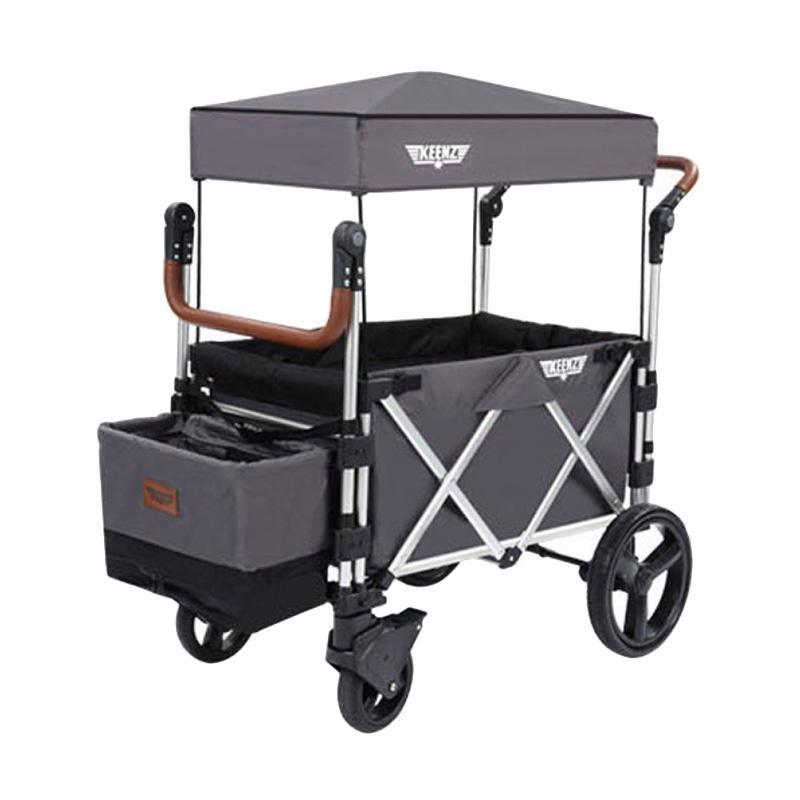 Keenz Stroller Wagon 7s Kereta Dorong Bayi - Dark Grey