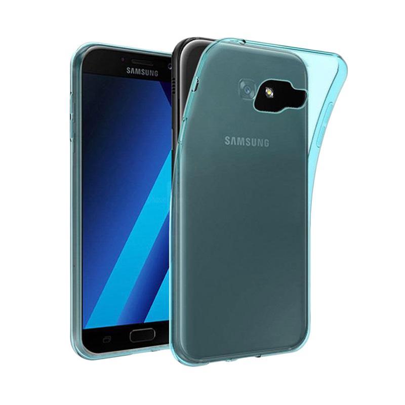 Ume Ultrathin Silicone Jelly Softcase Casing for Samsung Galaxy A7 2016 A710 - Biru