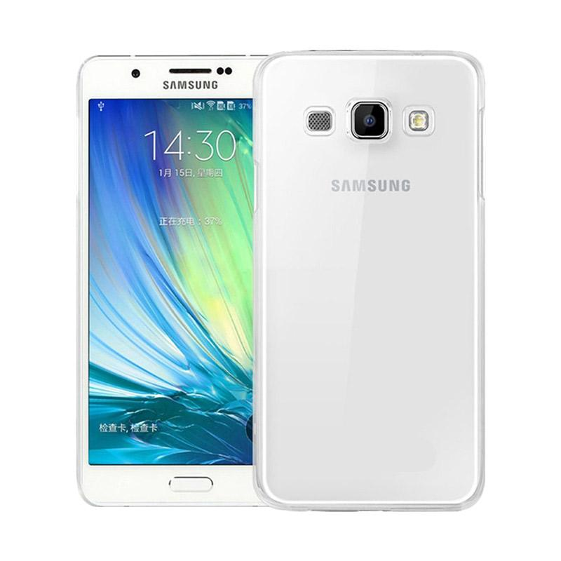 Ume Ultrathin Silicone Jelly Softcase Casing for Samsung Galaxy A8 A800F - Transparan