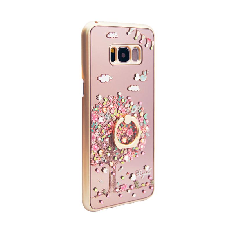 apbs® x Swarovski Love Tree Ring Casing for Samsung Galaxy S8 Plus - Pink