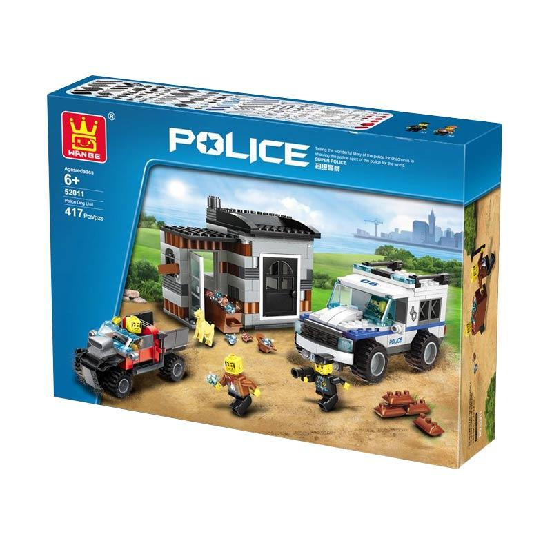 Wange 52011 Police Mini Blocks