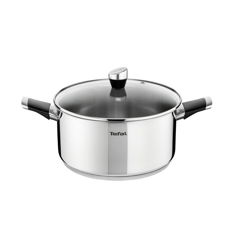 Tefal Emotion Stewpot W/Lid Cookware Peralatan Memasak [20 cm]