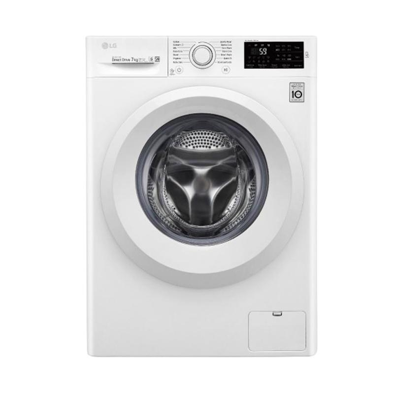 LG FC1207N5W Mesin Cuci Front Loading [7 kg]