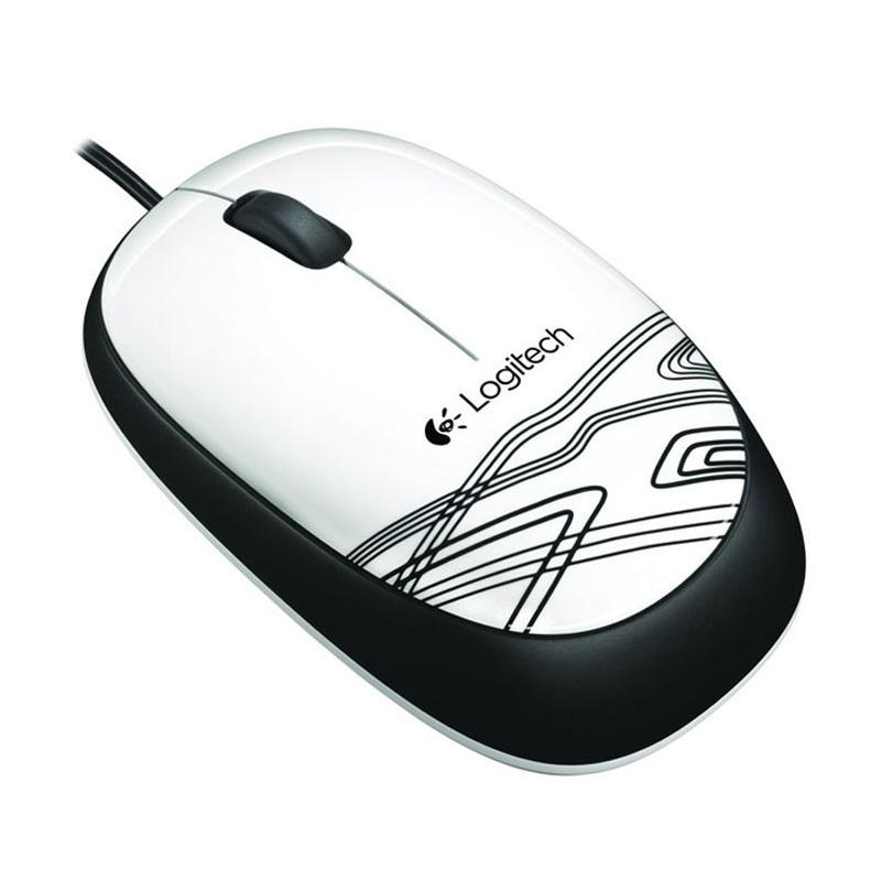 Logitech M105 Optical USB Mouse - Putih