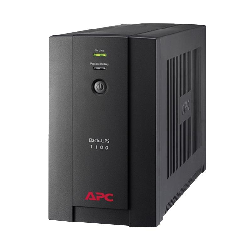 APC BX1100LI-MS UPS [1100VA/ 230V/ 550 W/ AVR/ Universal and IEC Sockets]