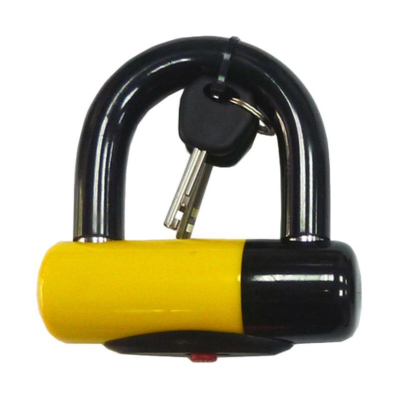 STEEL MARK U Bolt Lock Gembok - Yellow