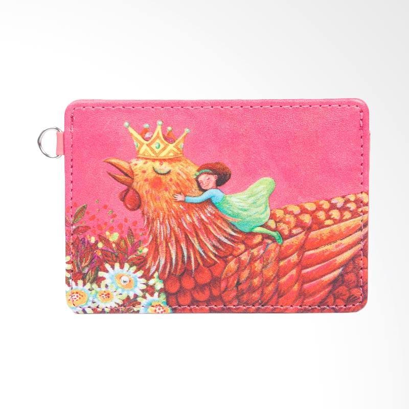 IPC Mansion Selected Jimmy World Card Holder Dompet Kartu - Pink
