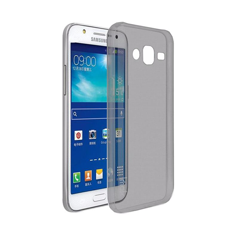 Ume Ultrathin Silicone Jellycase Softcase Casing for Samsung Galaxy Grand I9082 - Black