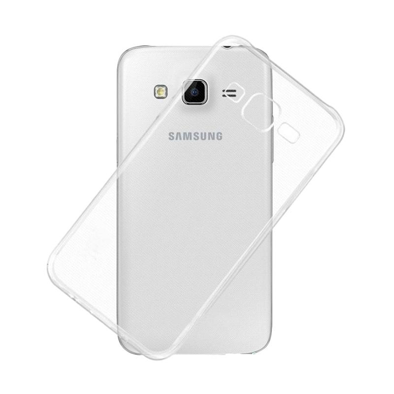 Ume Ultrathin Silicone Jelly Softcase Casing for Samsung Galaxy Grand 2 or G7106 - Transparan
