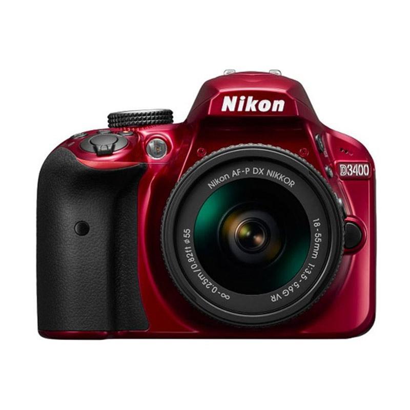 Nikon D3400 AF P VR Kamera DSLR 18 55mm