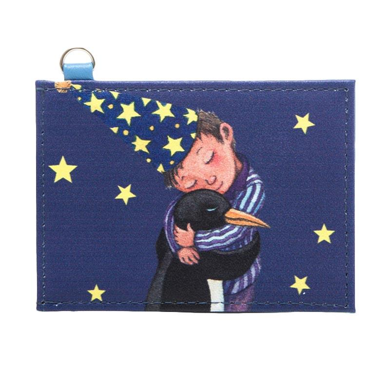 IPC Mansion Selected Jimmy Penguin Hugging Boy Card Holder