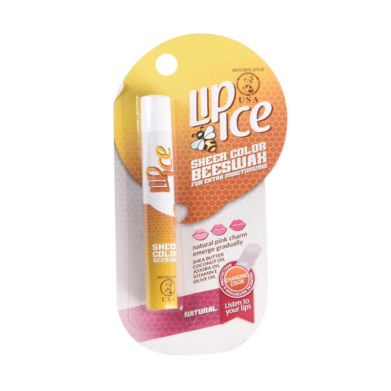 Lip Ice Sheer Color Bee Wax Natural Lip Balm