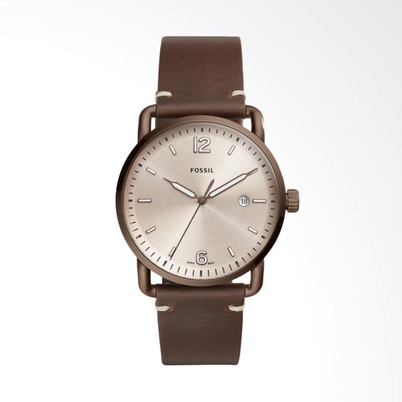 Fossil The Commuter Three Hand Date Watches