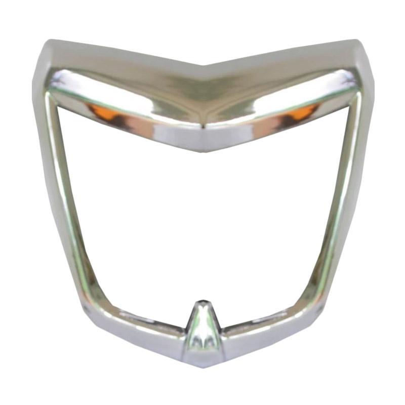 Raja Motor Ring Lampu Depan Motor for Yamaha Vixion Old or New Vixion Lightning - Chrome [RLD3031-Chrome]