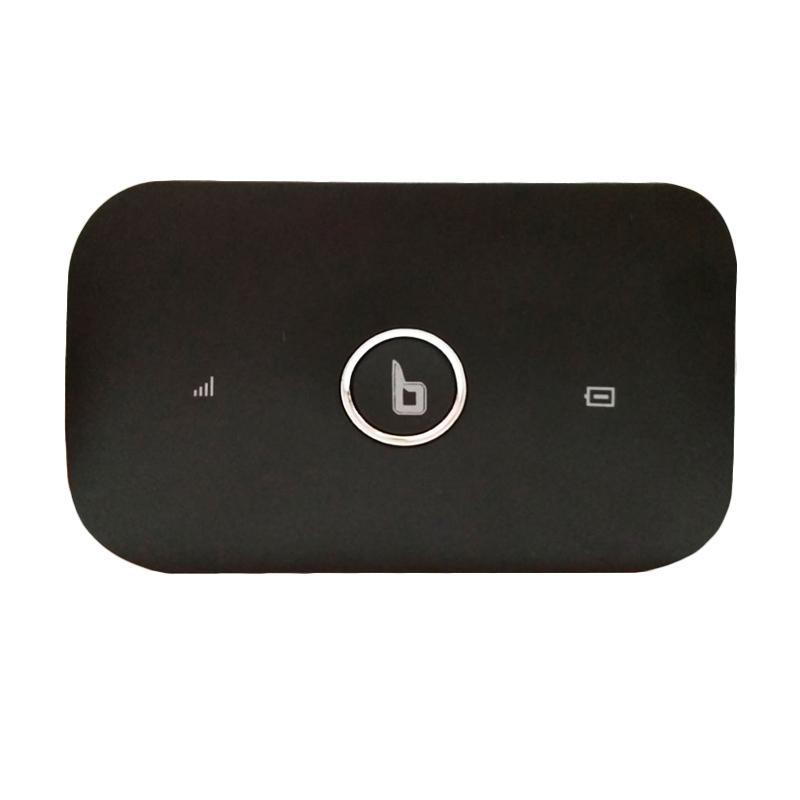 BLAZZ MX100 MiFi - Hitam [4G LTE/ Li-ion Battery/ Up to 100 Mbps]