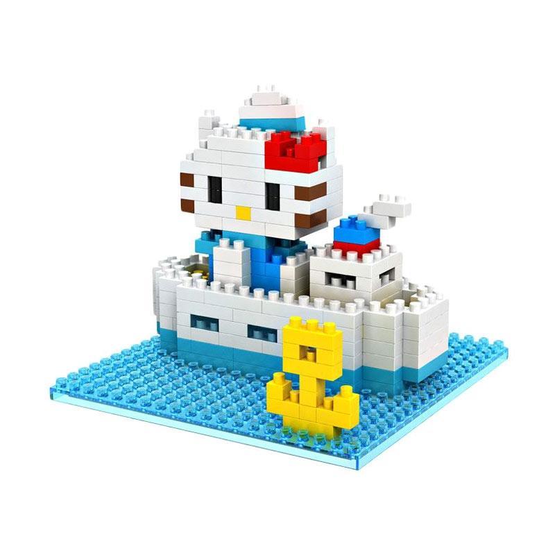 Loz Gift Large 9406 Navy Mainan Blok & Puzzle
