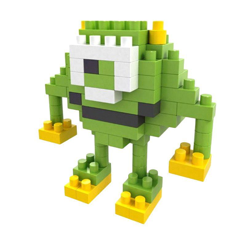 Boyu 8106A Green Monster Mainan Mini Block