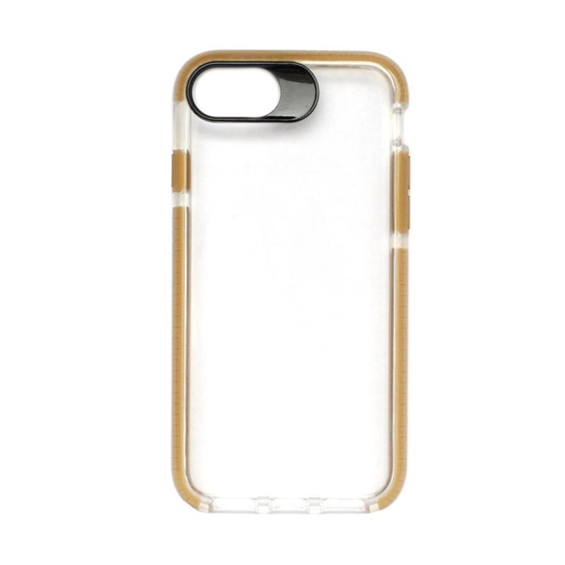 SMILE Big Eye Softcase Casing for iPhone 8 - Brown