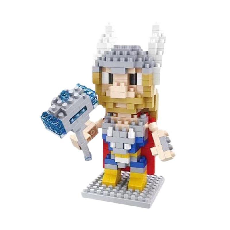 Hsanhe 8115 Thor Mainan Blok & Puzzle