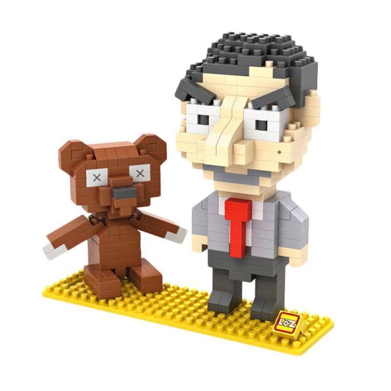 Loz Gift Bear 9507 Mainan Blok dan Puzzle [Large]