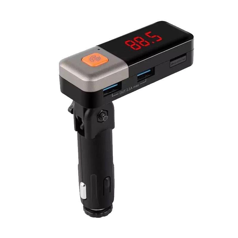 TOKUNIKU BT11 Kit FM Transmitter Handsfree Call USB Bluetooth Car Charger