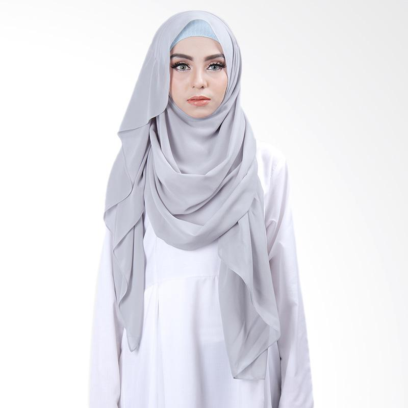 Cantik Kerudung Khloe Slip in Jilbab Instant - Greyish Green No.4