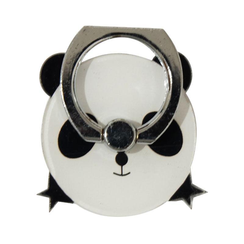 QCF 3D Animasi Panda Ring Stand Holder Smartphone