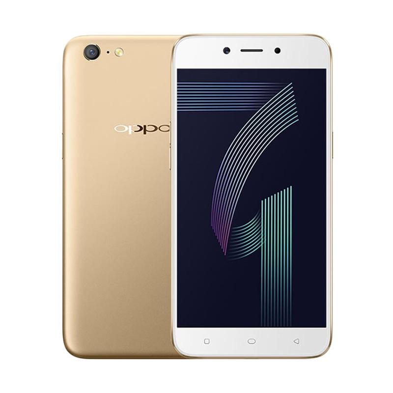 OPPO A71 Smartphone - Gold [16 GB/3 GB]