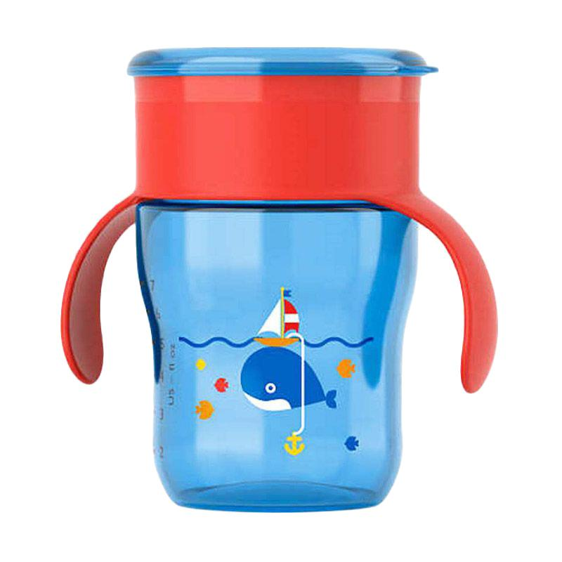 Philips Avent Grown Up Cup SCF782/20 Botol Minum 9M+ - Blue Red